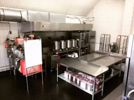Production Kitchen licensing in Hackney