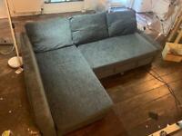 IKEA (FRIHETEN) Corner Sofa bed with Storage (£125 was £480 new)
