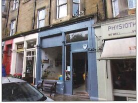 To Let For Rent Restaurant Hot food Cafe take away coffee shop unit Shop bar in Marchmont Area