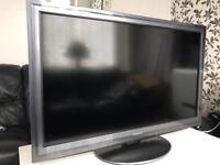 "Panasonic Viera 42"" LED Internet TV FreeViewHD FreeSatHD 1080p USB Slim. Immaculate Condition"