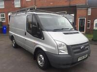 2008 FORD TRANSIT SWB T260s FULL SEVICE HISTORY HPI CLEAR ROOF RACK £3000 PX