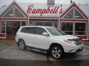 2012 Toyota Highlander V6 Limited 4WD 7 PASSENGER HEATED LEATHER