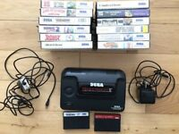 SEGA MASTER SYSTEM 2 WITH 12 BOXED GAMES