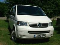 2009 Volkswagen TRANSPORTER White Manual 97000 Miles