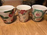 Cath Kidston Large Mugs