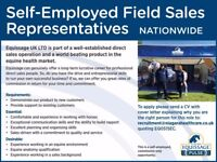 Equine Field Sales Agent (Direct Sales)