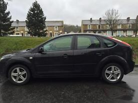 2006 Ford Focus 1.6i Titanium 1/2 Leather 12 Months Mot Just Done 2 Keys Drives Superb P/Ex Welcome