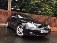 . MERCEDES BENZ CLK 220 CDI, 1 YEAR MOT, AUTOMATIC COUPE