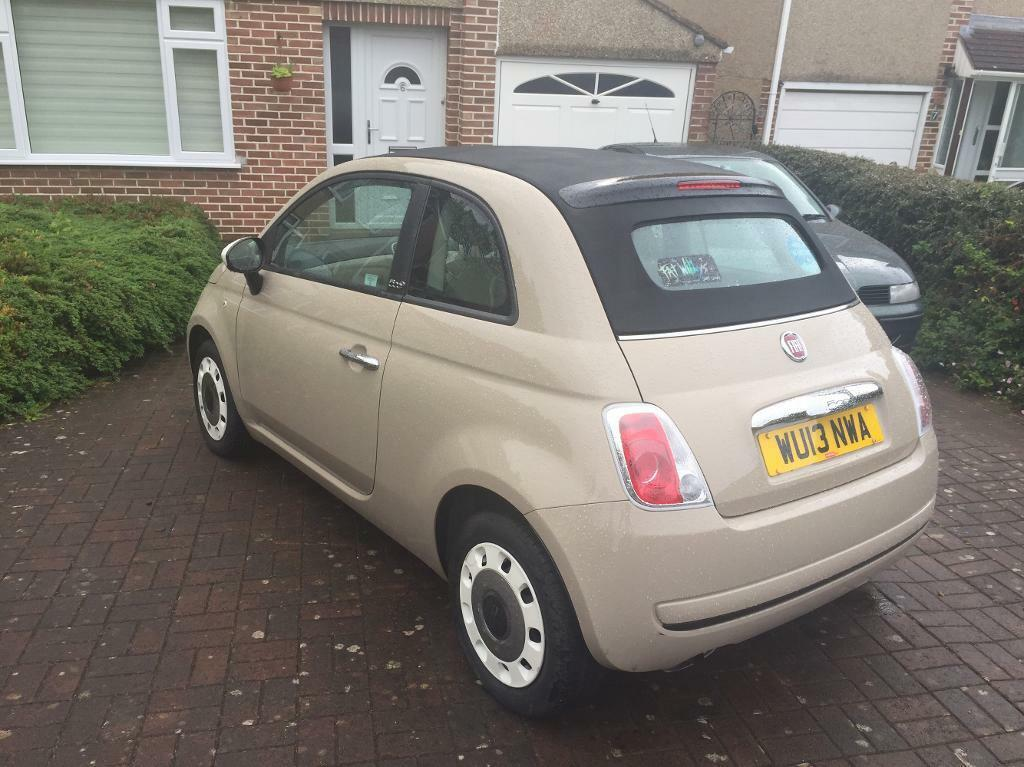 fiat 500 convertible colour therapy in bristol gumtree. Black Bedroom Furniture Sets. Home Design Ideas