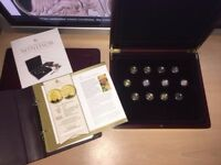 The Royal House of Windsor SOLID Gold Coins set
