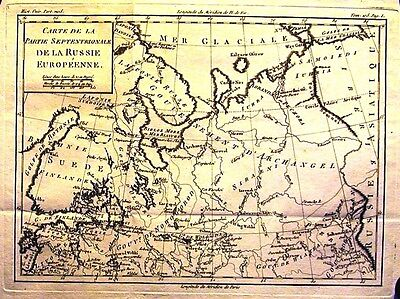 Antique map, Carte de la partie meridionale de la Russie Europeene.