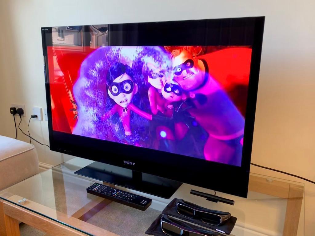 Sony Bravia TV 40 inch 3D Full HD 1080p LCD | in Edinburgh | Gumtree
