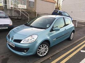 57 plate Renault Clio 1.1 ripcurl, new mot just 56k