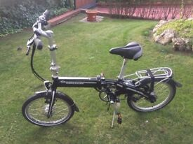 Bicycle Fold Electric German Hercules E-Verso