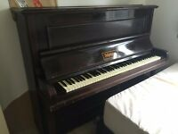 FREE Old 1920s London Made Piano. ISLE OF DOGS LOCATION
