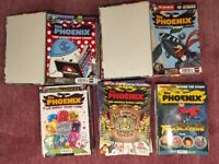 Phoenix Comic 108 magazines + 2 folders
