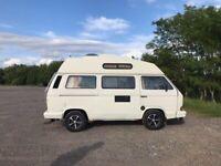 VW Campervan T25 Trident Auto Sleeper: original interior, RH drive, power steering, LPG/petrol
