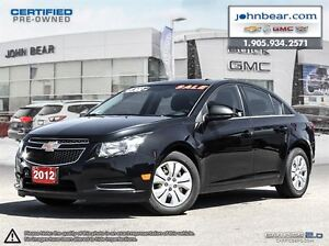 2012 Chevrolet Cruze LS+ w/1SB nO PAYMENTS & NO INTEREST FOR 6 M