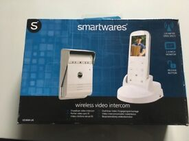 Smartwares wireless vidio intercom