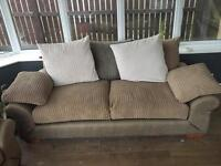 3 seater and 2 seater couches + coffee table