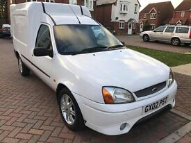 FORD courier only 71000 miles 6 months mot