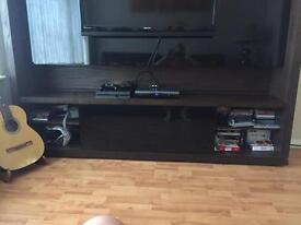 TV full wall unit n storage