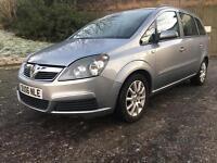 !!DIESEL!!Vauxhall zafira cdti long mot,full service history