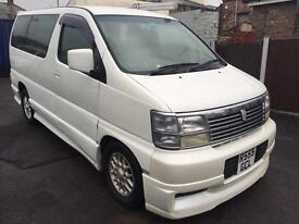 Nissan Elgrand 3.2 Diesel Auto Part Camper REDUCED TO CLEAR BARGAIN