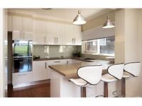 Cream & white gloss 10 units plus a solid wood worktop to clear... Last few bargain***