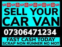 📞 CASH TODAY ANY CAR VAN RUNNING OR NOT SELL MY SCRAP COLLECT FAST