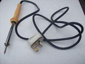 electric soldering iron