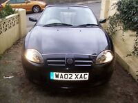 MG TF SPORTS CAR 135 1800CC LOW MILEAGE GENUINE REASON FOR SALE