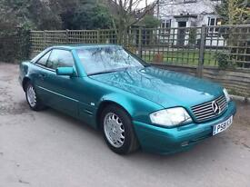 1996 P320 SL hard and soft tops only 87,000 miles service history