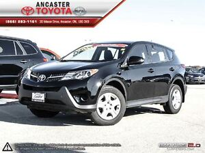 2015 Toyota RAV4 LE AWD ONLY 26299 KMS!!