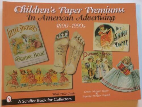 4 AMER. Paper,Advertising Ref. Books:Child