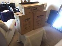 Kustom mixer amp 120watts with a pair of matching kustom speakers