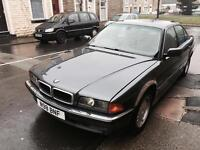 1996 BMW 735I 5 Door Automatic Saloon Top Of The Range Model Full Leather 12 Months Superb Condition