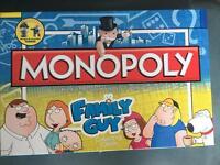 Family guy monopoly board