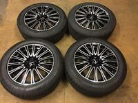 "18"" RIAL BRAND NEW ALLOY WHEELS MK5 GOLF AUDI MERCADES VIANO VITO SET OF 4"