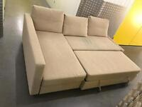 L shape sofa bed, Free delivery