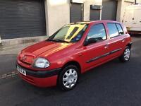 Renault Clio 1.2 Petrol++ 5 DOOR (GOOD RUNNER ++ STARTS FIRST TIME)