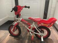 """12"""" mini mouse bike"""