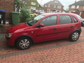 Vauxhall Corsa 1.7 tdi 2004 mailes 96000 in good condition for more info 07401441946