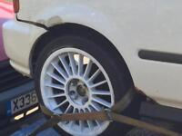 Multiple fit alloy wheels 17inch tyres good