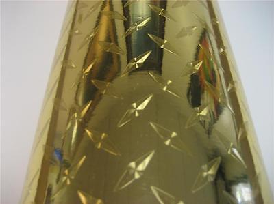 Gold Diamond Plate Sign Plotter Cutter Vinyl Roll