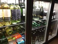 Large drinks fridge for sale.