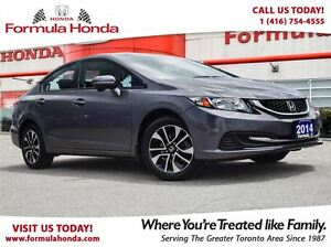 2014 Honda Civic Sedan EX | HEATED SEATS | BLUETOOTH | SUNROOF -