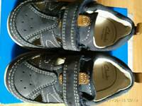 Kids Clarks sandals, size 5