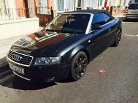 AUDI A4 S-LINE 2.5v6 TDI DIESEL 6 SPEED MANUAL CONVERTIBLE NEW MOT PORTSMOUTH