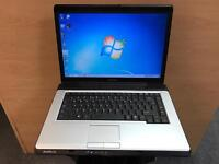 Toshiba Laptop, 2GB Ram, 80GB, Windows 7, Antivirus, Microsoft office, Good Condition
